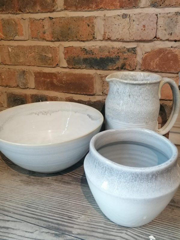 Parlane Grey & White Distressed Bowl