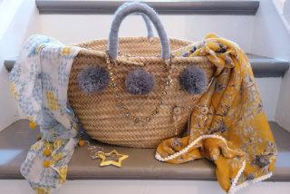Summer Wicker Bag