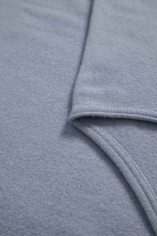 Part Two Blue Wool Sweater
