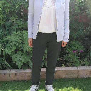Dark Grey Lounge Trouser