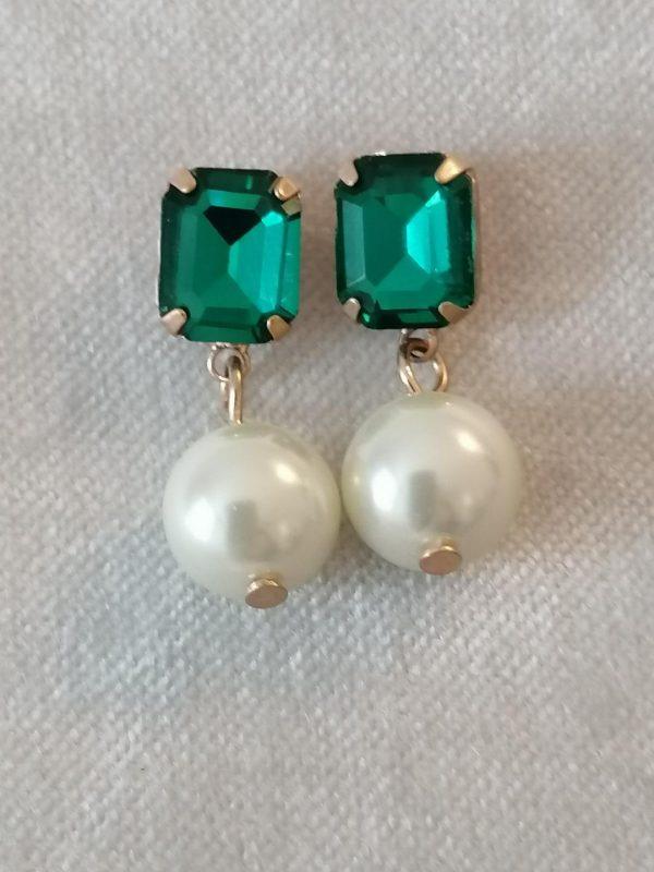 Lovett & Co Regal Pearl Stone Earring