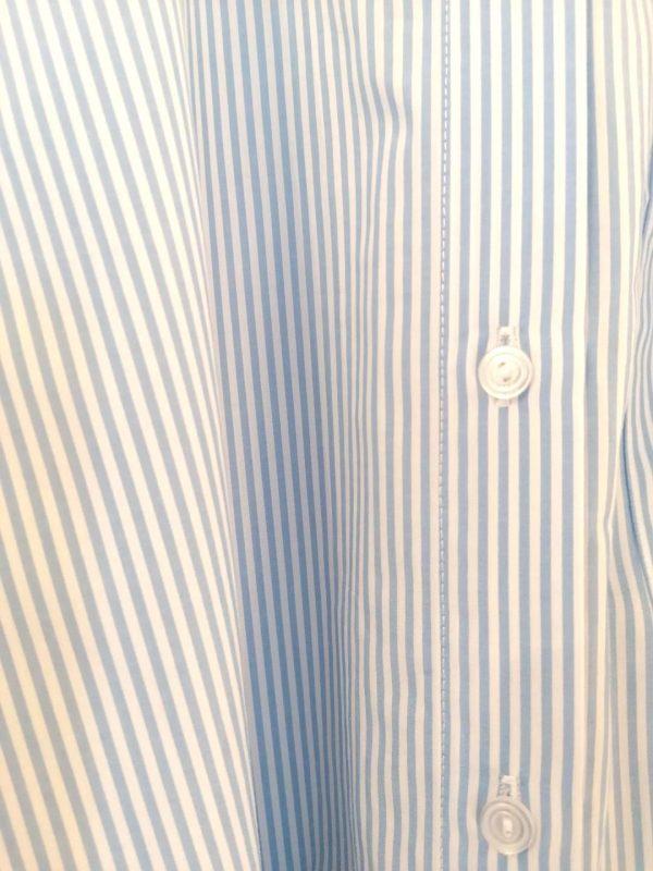Part Two Blue & White Shirt Dress