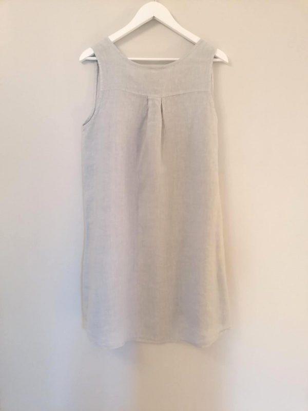 Luella Grey Linen Dress
